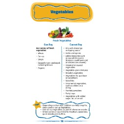 arizona WIC Approved Food List - Items Page 8