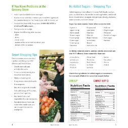 california WIC Approved Food List - Items Page 8