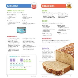 california WIC Approved Food List - Items Page 3