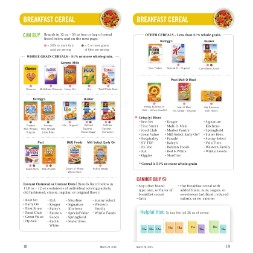 california WIC Approved Food List - Items Page 12