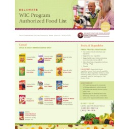 delaware WIC Approved Food List - Items Page 1