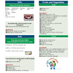 kentucky WIC Approved Food List - Items Page 9