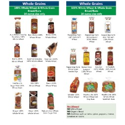kentucky WIC Approved Food List - Items Page 6