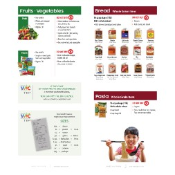 minnesota WIC Approved Food List - Items Page 2