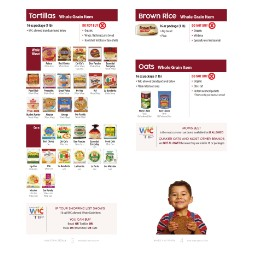 minnesota WIC Approved Food List - Items Page 1