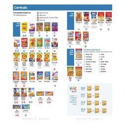 minnesota WIC Approved Food List - Items Page 6