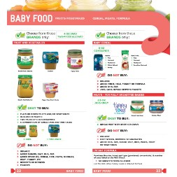 nebraska WIC Approved Food List - Items Page 3