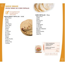 new_mexico WIC Approved Food List - Items Page 5