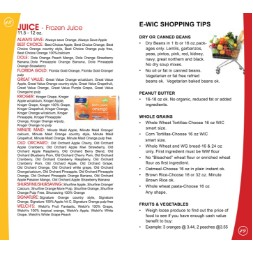 new_mexico WIC Approved Food List - Items Page 2