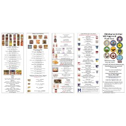 oklahoma WIC Approved Food List - Items Page 1