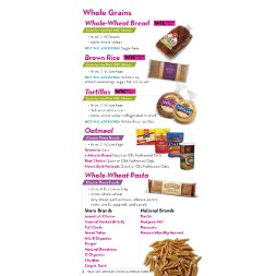 texas WIC Approved Food List - Items Page 6