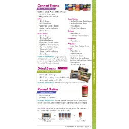 texas WIC Approved Food List - Items Page 9