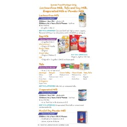 texas WIC Approved Food List - Items Page 11