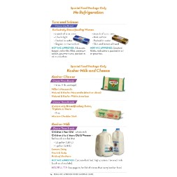 texas WIC Approved Food List - Items Page 3