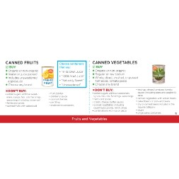 virginia WIC Approved Food List - Items Page 1