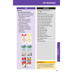 washington WIC Approved Food List - Items Page 7