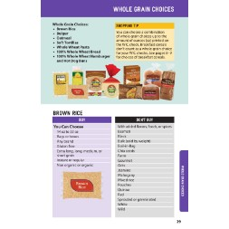 washington WIC Approved Food List - Items Page 26