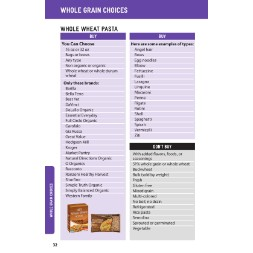 washington WIC Approved Food List - Items Page 28