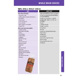 washington WIC Approved Food List - Items Page 23