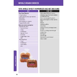 washington WIC Approved Food List - Items Page 11
